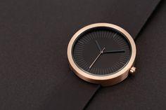 Simpl Watch- Amber Black