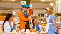 Meet Disney Characters at a breakfast buffet in 1900 Park Fare restaurant.