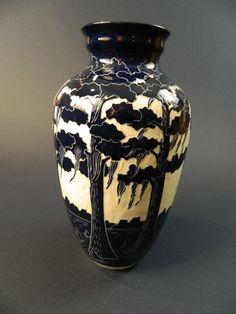 Ken Tracy Cypress Vase.