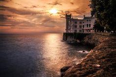 Castello di Miramare, Triest, Italy by Daniel Waschnig on 500px