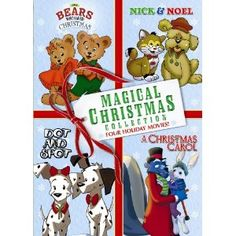 Four Holiday movies on one DVD. The magic of the holidays is here with four heart-warming tales! Four children's stories filled with adorable animals, lots of love and fantastic original songs!