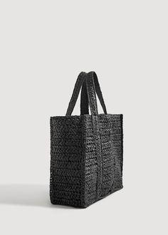 Örgülü shopper çanta – Kadın – 2020 Fashions Womens and Man's Trends 2020 Jewelry trends Macrame Purse, Crochet Market Bag, Braid Designs, Jute Bags, Bohemian Necklace, Crochet Handbags, Summer Bags, Shopper Bag, Crochet Designs