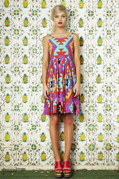 La Flor Retro Dress- mister zimi