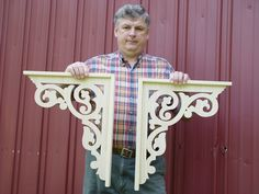 Wolfer's Wood Works Hand made Victorian Gingerbread Brackets on ETSY