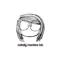 Logo for the blogger Natalý Montes