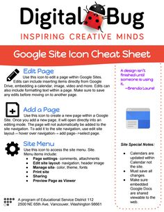 #digitalbug Google Sites