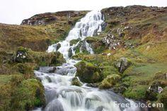Brides Veil Waterfall, Isle of Skye Scotland