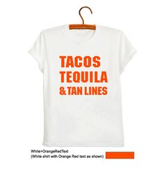 0f026a99d49 Tequila Shirt Taco Tee Holiday T Shirts Gifts Womens TShirts with sayings  Mens Graphic Tee Tumblr Shirts for Teens Tops