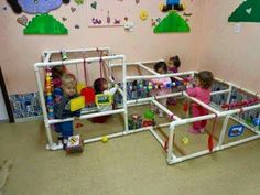 Baby Gym, Baby Play, Baby Kids, Infant Activities, Preschool Activities, Aluno On, Playroom, Jungle Gym, Baby Sensory