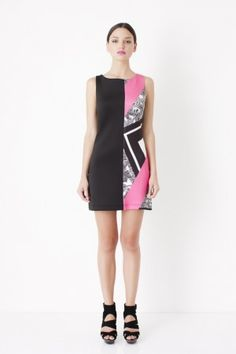 Cute little patterned shift dress from George. Very versatile x