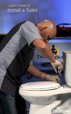 Teach2Build - Remove and Install Toilet