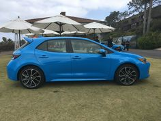 The 2019 Toyota Corolla hatchback is an all-new compact four-door car, based on the automaker's new global vehicle architecture. Toyota Corolla Hatchback, Hatchbacks, Trends Magazine, Trd, Luxury Cars, Dream Cars, Goals, Vehicles, Autos
