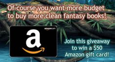Clean Fantasy Reads Amazon Gift Card Giveaway 2