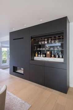 20 Popular Home Mini Bar Kitchen Designs Ideas To Have Asap in 2020 Home Bar Furniture, Furniture Ideas, Interior Design Living Room, House Design, Bar Kitchen, Kitchen Designs, Modern Bars For Home, Modern Home Bar Designs, Basement Ceilings