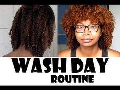 Wash Day Routine For Natural Hair ! || MelfaceMish