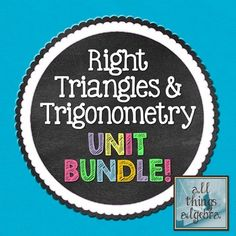 Special Right Triangles Guided Notes for Right Triangles ...
