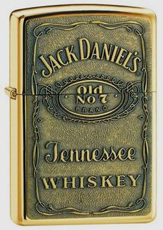 Jack Daniels Brass Zippo - Definitely Want!