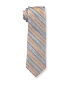 55% OFF Ben Sherman Men's Hutton Stripe Tie, Orange