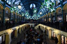 Pin for Later: It's a Christmas Wonderland in London! Covent Garden Christmas Lights