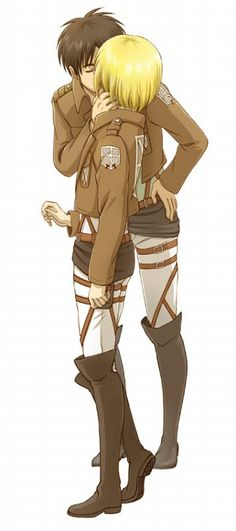 attack on titan eremin | Tumblr Shit! My nose is bleeding from Cuteness!