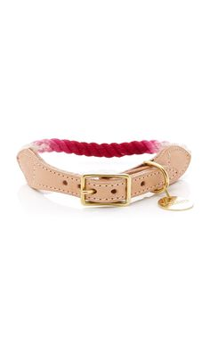Ombre Cotton Rope Dog & Cat Collar by FOUND MY ANIMAL for Preorder on Moda Operandi