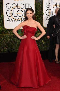 Catherine Zeta Jones. Golden Globe Awards 2015.