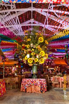 Decoração Festa Junina Quadrilha