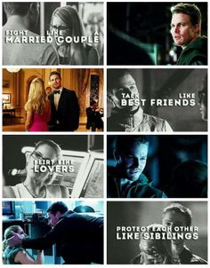 Arrow - Oliver & Felicity #Olicity THIS is why they're perf.