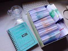 """lawteastudy: """"How 2 semesters - 2500 pages - 5 exams in law school flashcards look like :') they are the best tool for revision! I'm saving them for my bar exam as well. Would anyone want to see a post on how I organize them? Do you use flaschards? ..."""