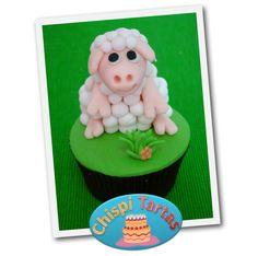 Modelado fondant oveja