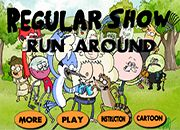 Regularshow run around | Juegos un Show mas - Regular Show