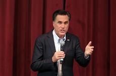 #7 #prezpix #prezpixmr   election 2012  candidate: Mitt Romney  publication: USA Today  photographer: Carlos Osorio, AP   publication date: 2/29/12