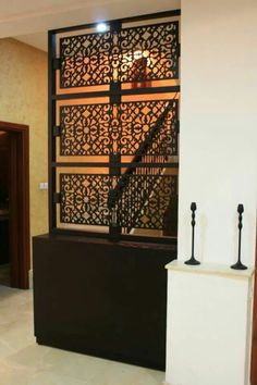 s paration design artisanal marocain par le cabinet. Black Bedroom Furniture Sets. Home Design Ideas