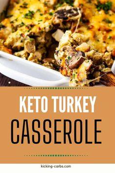 Keto Turkey Casserole
