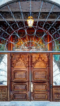 Gonzaga University - Spokane, Washington Cool Doors, Unique Doors, Stairs Window, Doorway, Spokane Washington, Washington State, Knobs And Knockers, Door Knobs, Gonzaga University