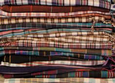 A Peace Treaty — Collaborations Ralph Lauren: A PEACE TREATY designed two scarf collections for Rugby Ralph Lauren. Pieces were inspired by regional tartan weaving techniques and were hand-loomed in 8 different villages and towns in Pakistan by small family textile makers.