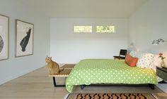 Modern Vermont Farm House farmhouse-bedroom