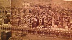 بيوت أهالي مكة حول الحرم، الحجاز  Details of the homes of the people of Makkah surrounding the Holy Mosque