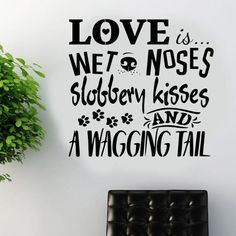 2017 New Design Dog wall sticker art decal transfer pet grooming quote Vinyl wall Decor Vinilos Paredes Mural A217