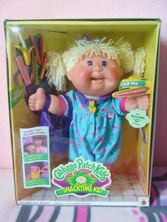 The infamous Cabbage Patch Kid recall We gave all the granddaughters a Cabbage Patch Doll for Christmas.  true collector items to save for the future.  Kw.