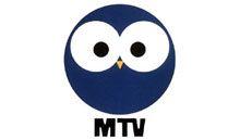 MTV:n pöllö, joka otettiin käyttöön vuonna 1975, kun aloitettiin väri-tv-lähetykset.