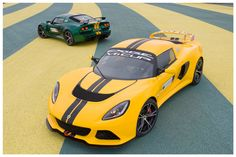 2012 Lotus Exige V6 Cup:  3.5 Liter SuperCharged V6, VVT-i.  0 to 60 mph in 3.8 seconds. Top Speed of 170 mph. Est. price $102,222.00