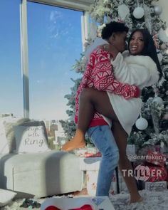 Christmas videos until the countdown for Christmas 🥳 Freaky Relationship Goals Videos, Couple Goals Relationships, Relationship Goals Pictures, Couple Relationship, Cute Black Couples, Black Couples Goals, Cute Couples Goals, Black Couples Tumblr, De'arra And Ken