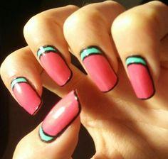 • Easy Summer Nail Art •