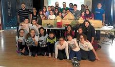 Canarias7. Sociedad. Un robot girasol para Ciberlandia