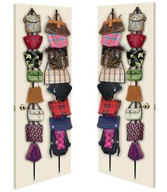 5 Handbag Storage Idea's ~ Sweet Days of Girlie Organization Skills, Purse Organization, Organizing Purses, Organisation Hacks, Bag Rack, Handbag Storage, Dubai Shopping, Sweetest Day, Wall Racks