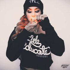 #smokinggirl #swag #prettymake-up#fumarfree#vaplife#vapear#cbd#bho#vap#vaporite
