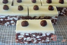 Neodolatelná sladká čokoládová dobrůtka bez pečení | NejRecept.cz Sweet Recipes, Cake Recipes, Keks Dessert, Oreo Cupcakes, Chocolate Pies, Macarons, Baked Goods, Cheesecake, Food And Drink