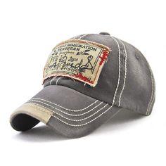 cae20553794 Men Women Washed Cotton Baseball Cap Casual Sport Patch Printing Snapback  Visor Hat Adjustable