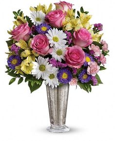 Smile And Shine Bouquet By Teleflora Flowers Beautiful Of Pretty